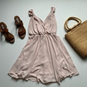 Forever 21 Baby Pink Flowy Dress
